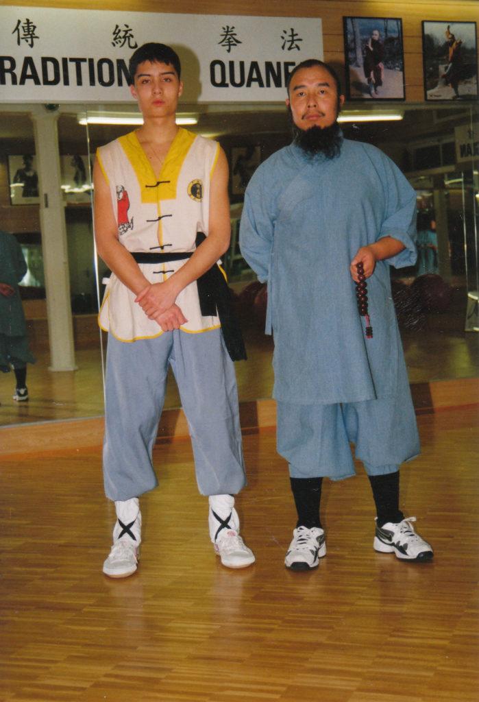 Erster Shaolinsi-Schüler der Schweiz