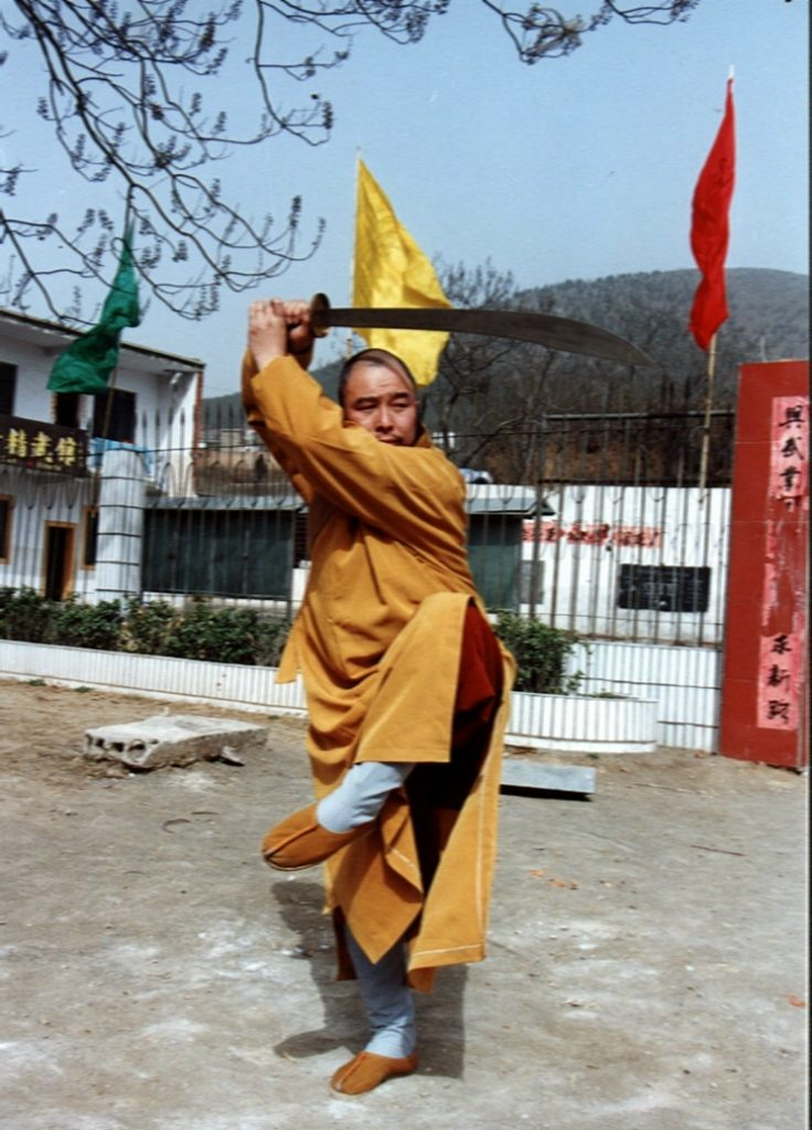 Besuch aus dem Shaolin-Tempel
